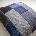 DIY Harris Tweed Cushion